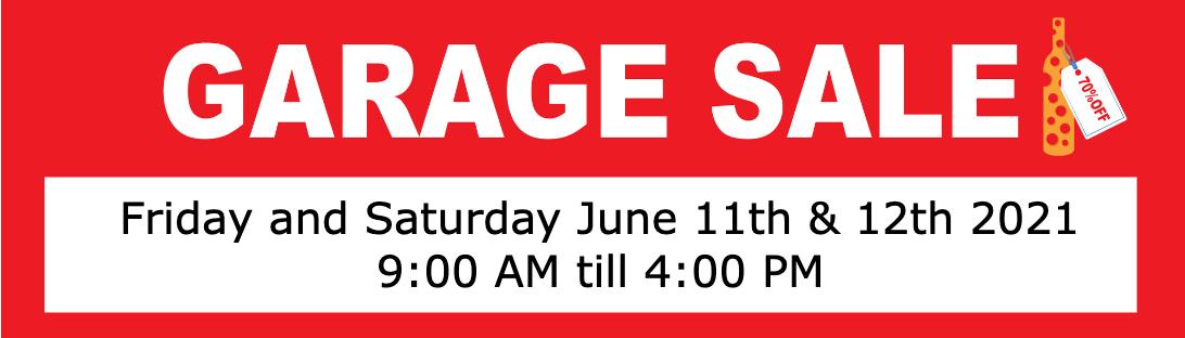 2021 Garage Sale Is BACK! CLICK TO REGISTER